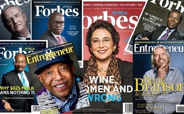 کارآفرینان موفق و برتر دنیا
