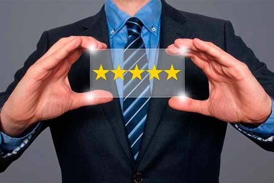 پنج ستاره که باعث افزایش فروش شما می شود