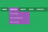 بهینه سازی منوی سایت برای سئو