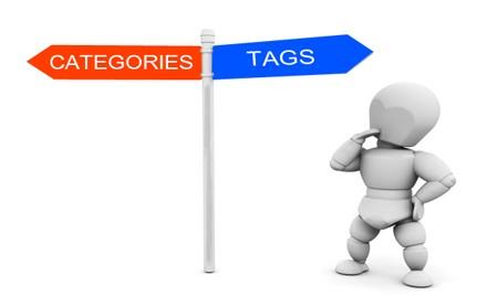 دسته بندی و برچسب صفحات برای سئو