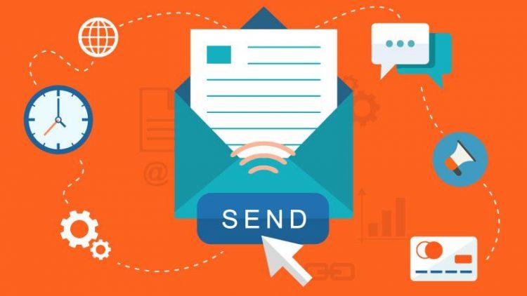 ایمیلهای ارسالی