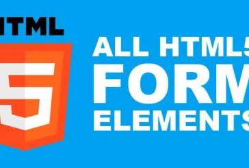عناصر فرم های  html